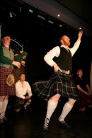 Roy dancing the Highland Fling