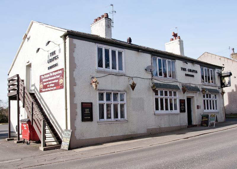 The Grapes Inn, Bamford