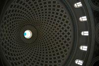 Church dome, Mosta