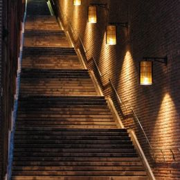 Night time stairs
