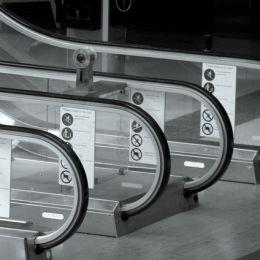 Liverpool Street Station escalator 1