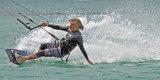 Mark Chatel Kite Surfer at St Ouen