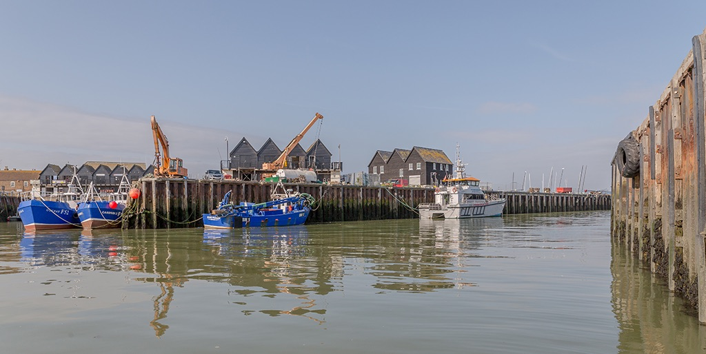 A different view, Whitstable Harbour