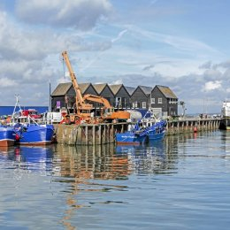 The Balmoral at Whitstable Harbour