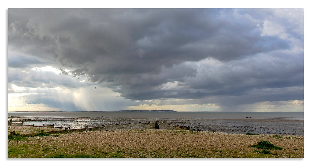 Storm brewing over Sheppey.