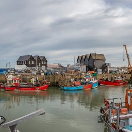 Whitstable Harbour High Tide