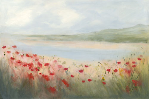 Poppies on the Estuary