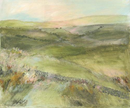 Spring moorland