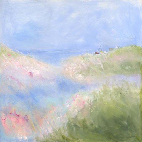 Spring shoreline
