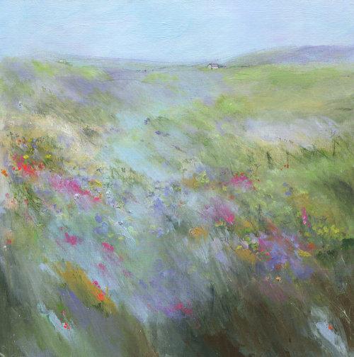 Moorland wild flowers