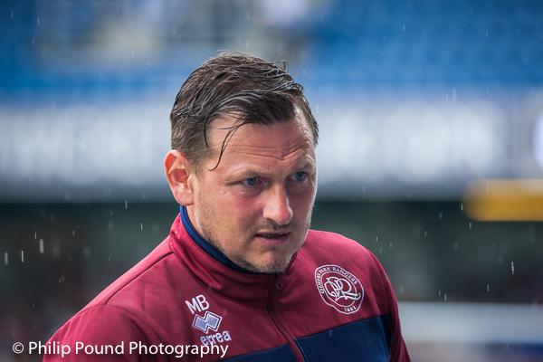Marc Bircham ex QPR midfielder and now Assistant Manager at QPR