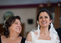 Happy Mother and Bride