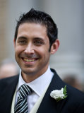 Groom at his wedding by London Wedding Photographer Philip Pound