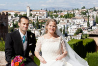 The Happy Couple at the Alhambra Palace
