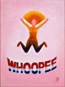 Whoopie! (Oil On Canvas) 30.5cm X 41.5cm X 1.7cm