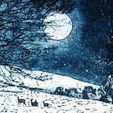 Full moon, Christmas morning
