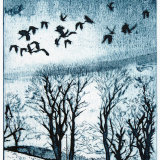 And rooks in families homeward go