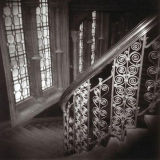 Grand staircase, St Pancras Chambers, London