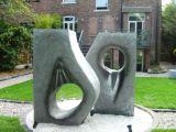 Garden sculpture (back)
