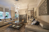 Glamorous contemporary lounge in a period property 2015