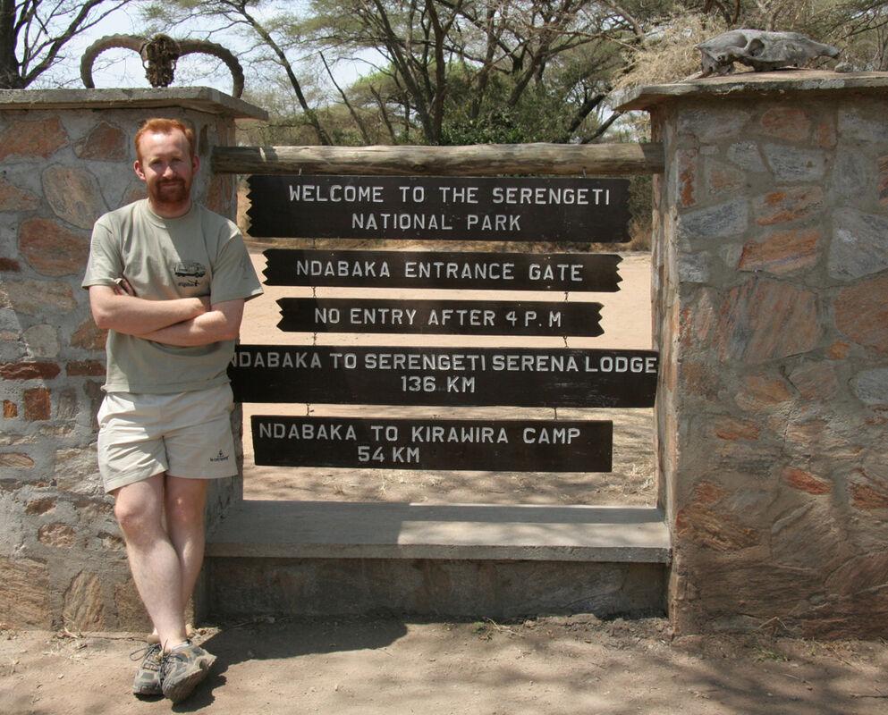 Me at the Serengeti