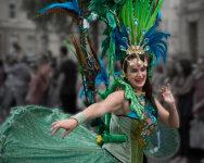 Dancer a Bath Carnival