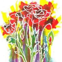 Poppies and Sunshine 001