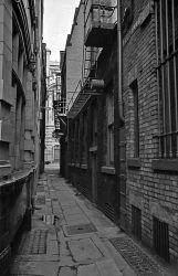 Alley, Cross St.