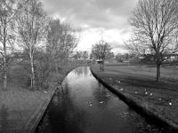 Rochdale Canal, Cardroom Estate (demolished).