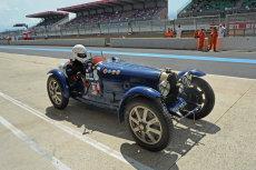 Bugatti pit