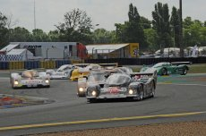 Group C close racing
