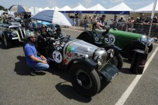 Hot weather in the Riley Brooklands