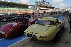 Jaguar pit lane