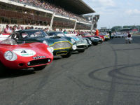 On the grid, Le Mans Classic 06