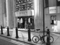 Armani bike