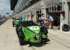 Talbot 105 pit lane