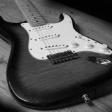 Fender black and white