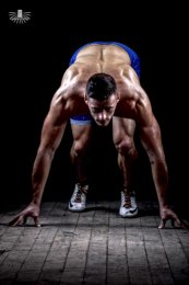 Fitness and sportswear photography