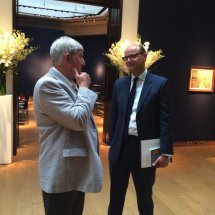 Trustees at Christie's Sale event.