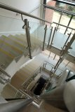 The stairwell, although there is also a lift.