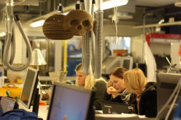 Speculative Demonology as Deep Geological Repository Marking Strategy (2016), 3D-additive design and printing workshop with invited guests; Bildmuseet, Umea, Sweden, 8th-10th November 2016