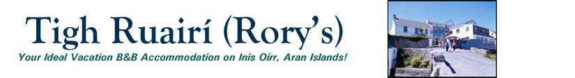 Tigh Ruairi (Rory's) B&B, Inis Oirr, Aran Islands