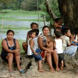 Amazon tribal family