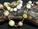 yellow/green beads