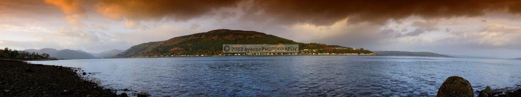 Kilmun & Strone from Holy Loch