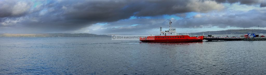 Western Ferries at Hunters Quay
