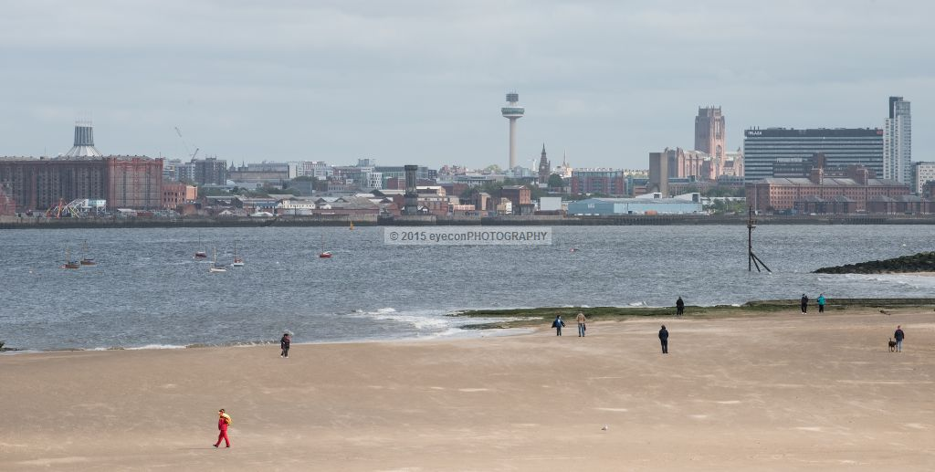 Liverpool from New Brighton