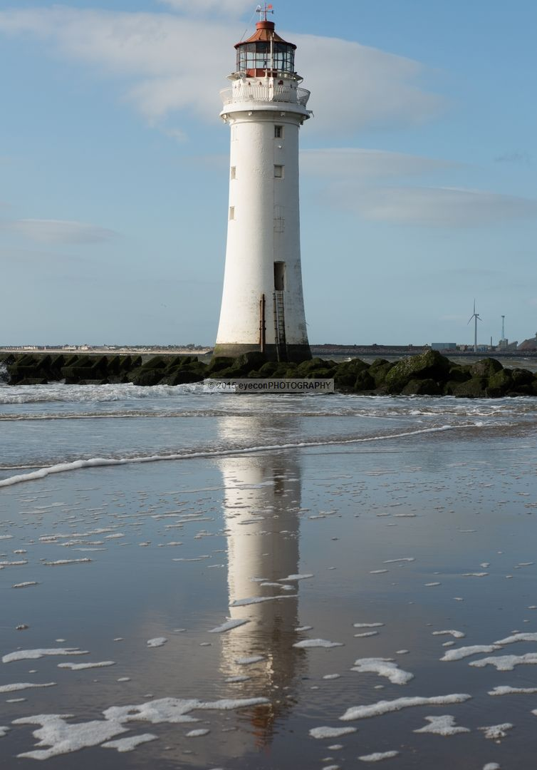 Reflections of New Brighton Lighthouse
