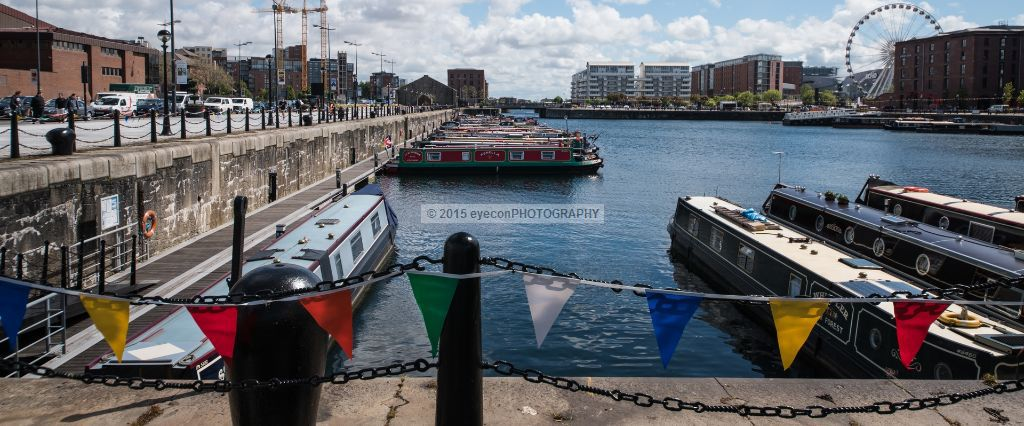Canal Boats at Canning Dock