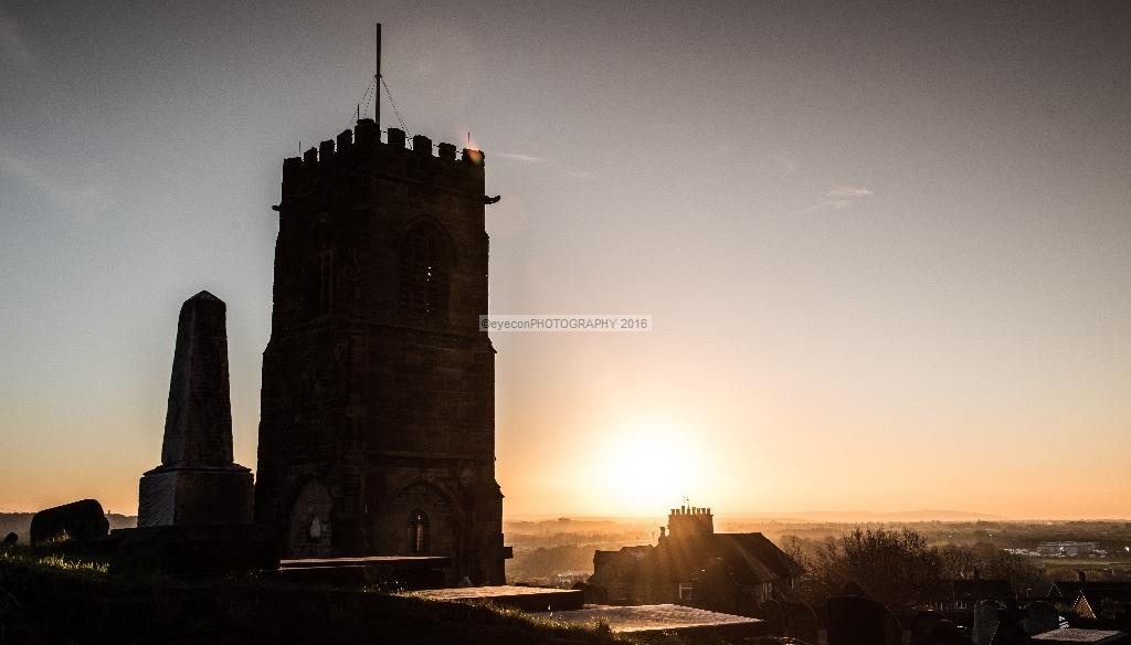 St Hilary's Sunset